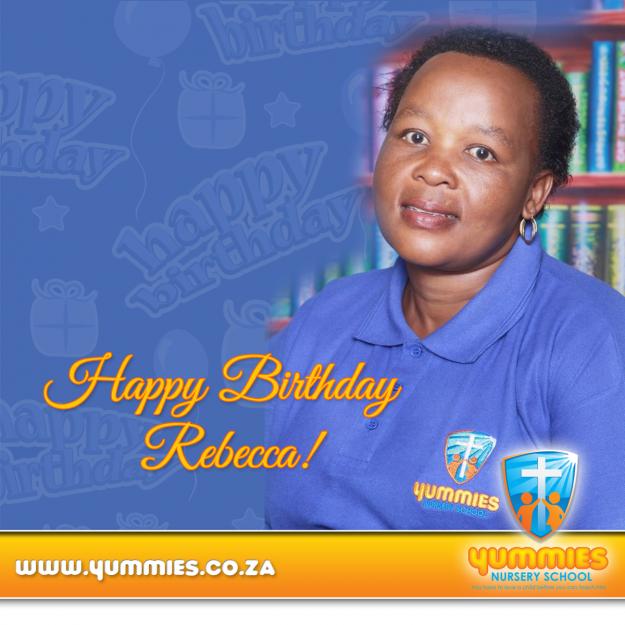 Rebecca's birthday