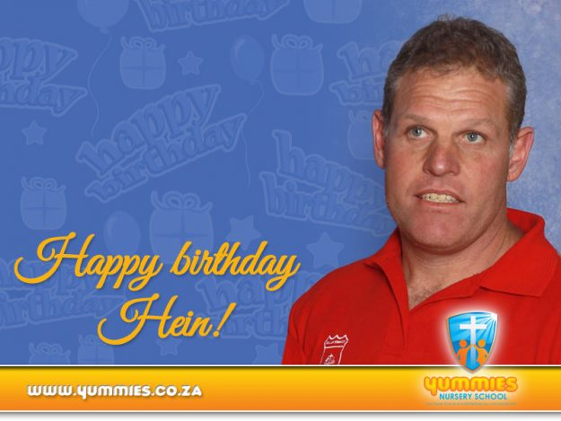 Happy Birthday Hein!