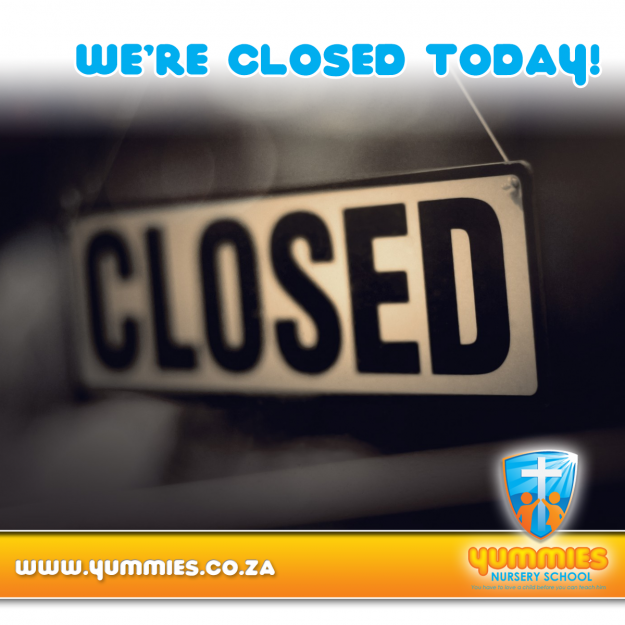 Yummies is closed for the year! @ Yummies Nursery School | Roodepoort | Gauteng | South Africa
