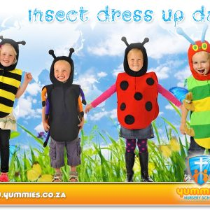 Insect Dress Up Day @ Yummies Nursery School | Roodepoort | Gauteng | South Africa